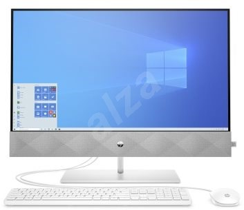 HP Pavilion 27-d0002nc White - All In One PC