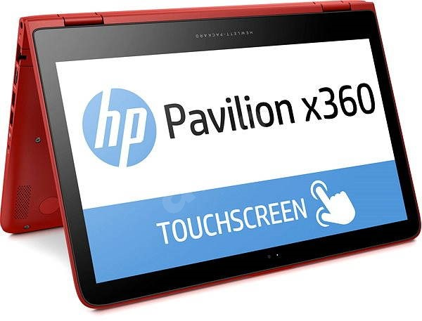 HP Pavilion 13-s008nc x360 Touch Sunset Red - Tablet PC