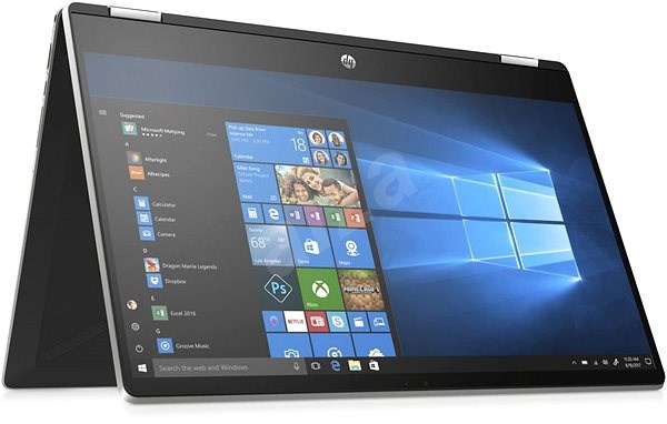 HP Pavilion x360 15-dq0002nc Natural Silver Touch - Tablet PC