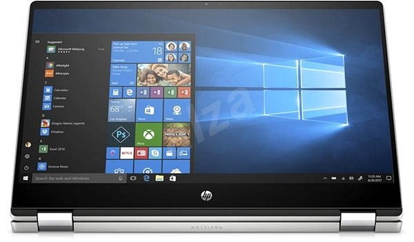 HP Pavilion x360 15-dq1900nc Natural Silver - Tablet PC