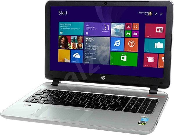 HP ENVY 15-k001nc Modern Silver - Notebook