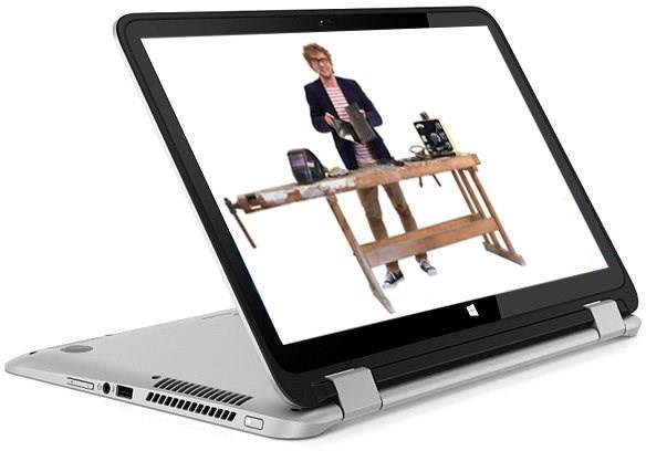 HP Envy 15-u100nc x360 Natural Silver - Tablet PC