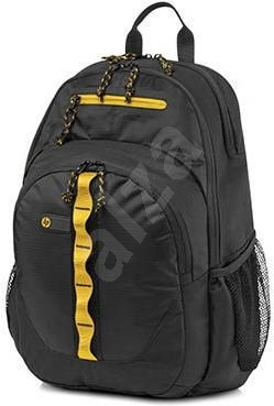 d85e043821 HP Sport Backpack Black   Yellow 15.6