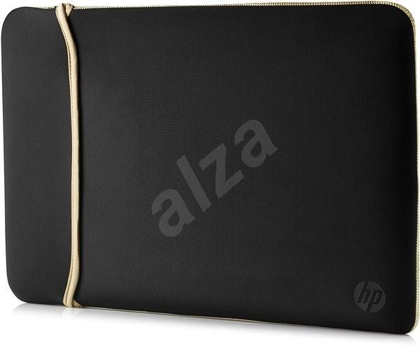 "HP Reversible Sleeve Black / Gold 15.6"" - Pouzdro na notebook"