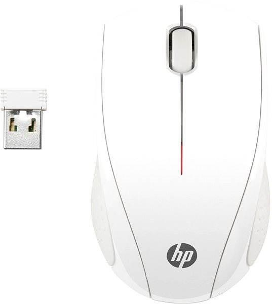 HP Wireless Mouse X3000 Blizzard White - Myš