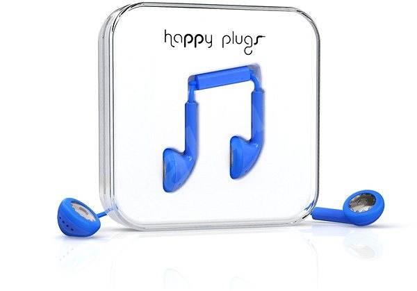 Happy Plugs Earbud Blue - Sluchátka