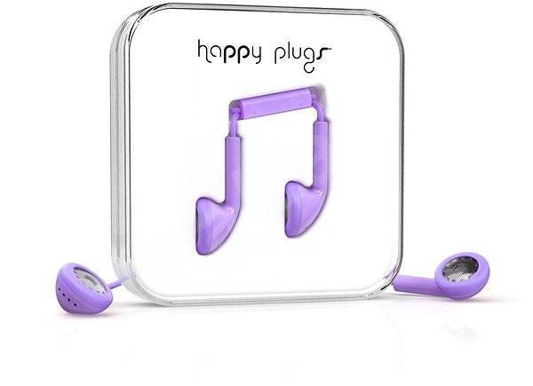 Happy Plugs Earbud Lavender - Sluchátka