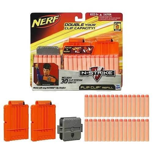 Nerf N-Strike Náhradní zásobníky a šipky -