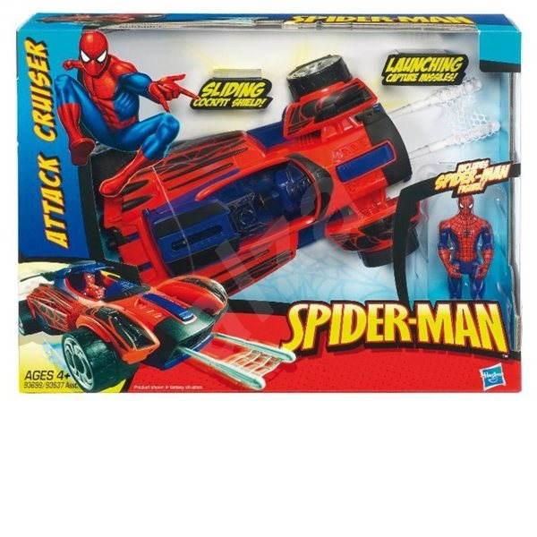 Spiderman s vozidlem Street Spider -