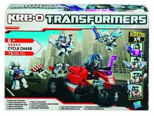 Kre-o Transformers - S motocyklem a raketometem - Stavebnice