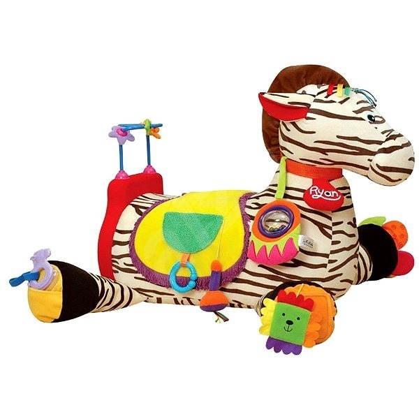 K's Kids Velká zebra RYAN - Hračka pro nejmenší