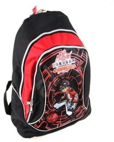 Bakugan černo-červený malý - Dětský batoh  7cdc258561