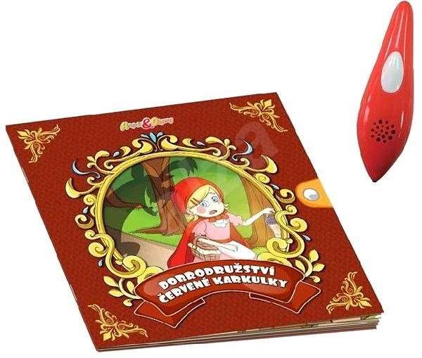 Chytré pero s knihou Dobrodružství Červené Karkulky - Interaktivní hračka