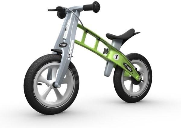 FirstBike Racing green - Sportovní odrážedlo