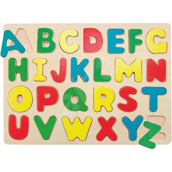 Woody Puzzle na desce - Abeceda - Puzzle