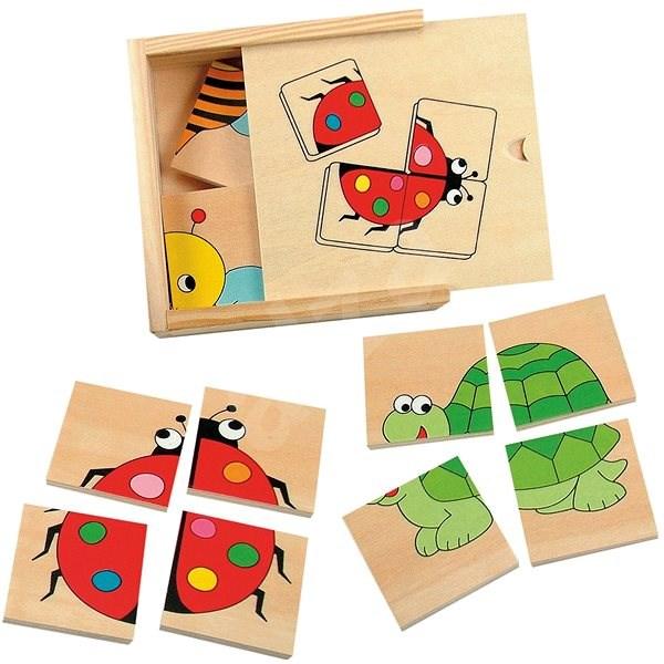 Woody Minipuzzle - Beruška - Puzzle