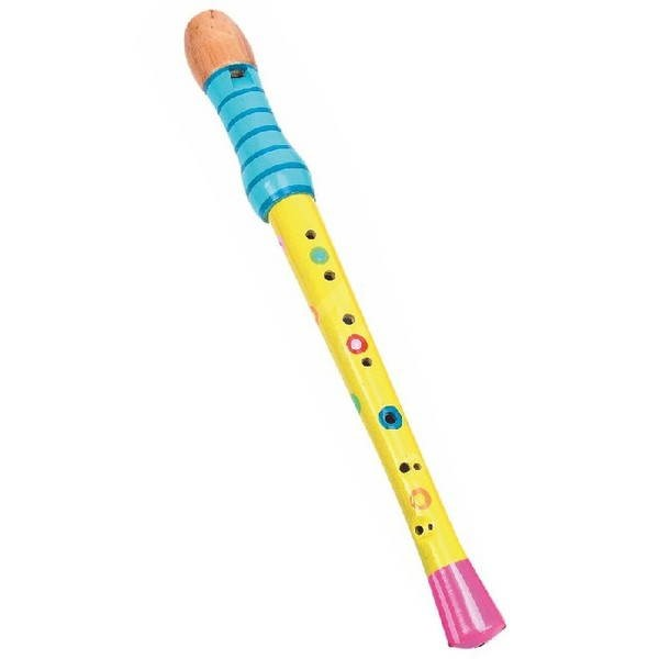 Woody Flétna - žlutá - Hudební hračka