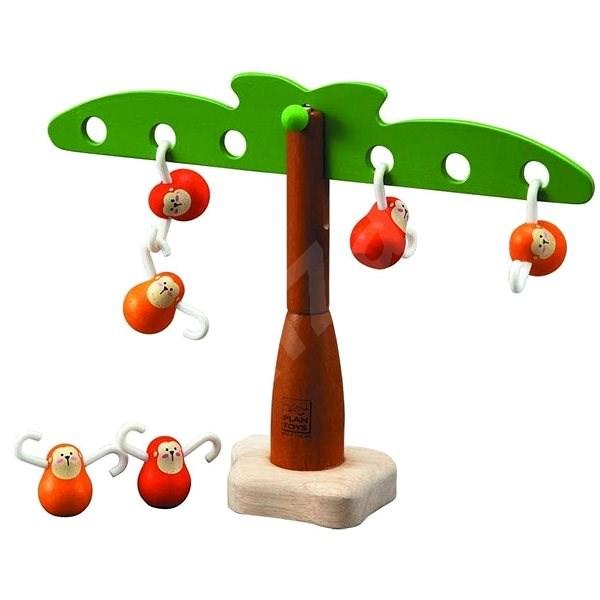 Plan Toys Balancující opičky - Didaktická hračka