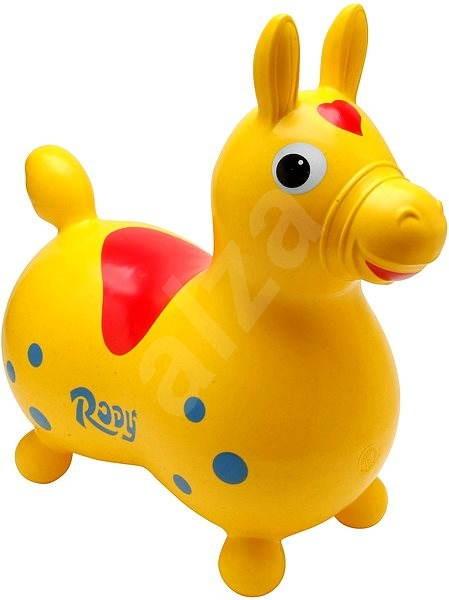 Skákací koník Cavallo Rody žlutý - Dětské hopsadlo