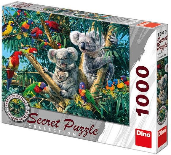 Dino Koaly - Puzzle