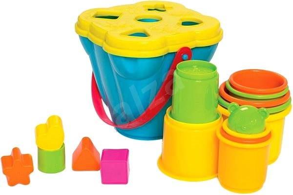 Playgro – Kyblík s vkládačkou - Interaktivní hračka