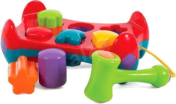 Playgro – Zatloukačka s tvary - Interaktivní hračka