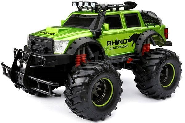 New Bright RC Auto expedice nosorožec černé/zelené - Auto