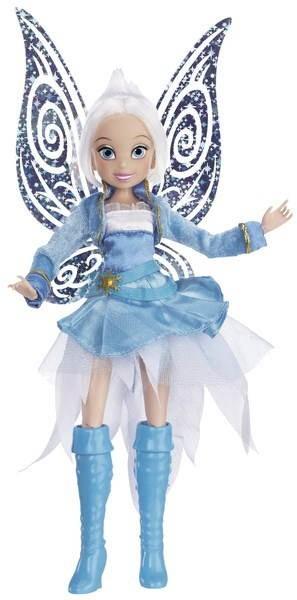Disney víla - Deluxe panenka Modrovločka - Panenka