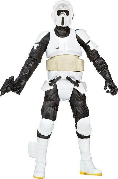 Star Wars  - pohyblivý Biker Scout - Figurka