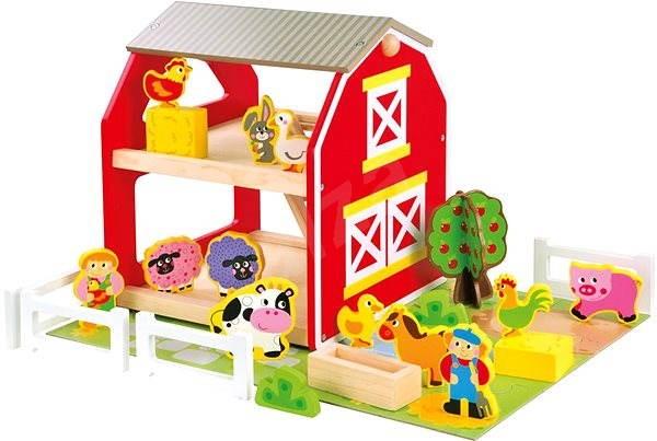 Bino Farma se zvířátky - Herní set