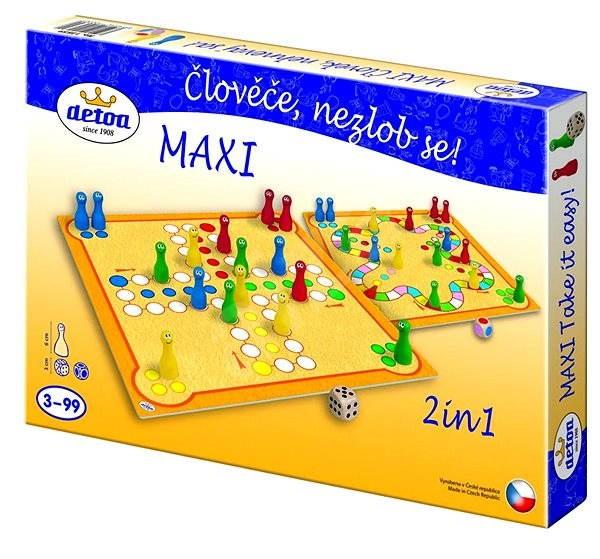 Člověče nezlob se - MAXI - Společenská hra