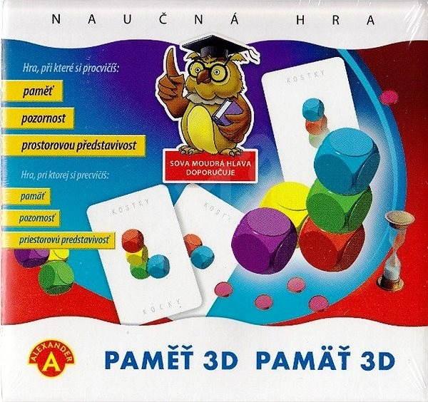 Paměť 3D - Společenská hra