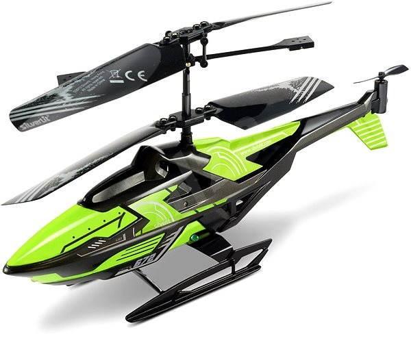 Vrtulník Hover Cruiser - Helikřižník zelený  - RC model