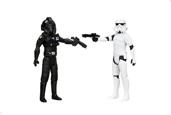 Star Wars - Akční figurky Tie Pilot + Stormtrooper - Herní set