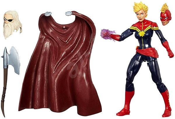 Avengers - Legendární akční figurka Kapitán Marvel - Figurka