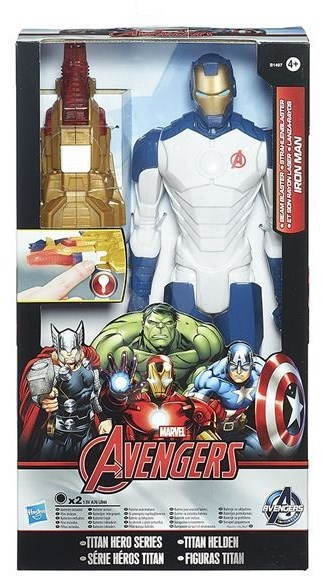 Avengers - Akční figurka s svítícím doplňkem Iron man - Figurka