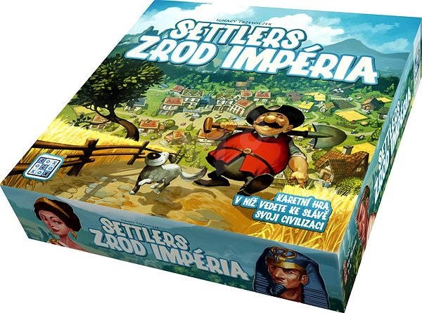 Settlers - Rise of an Empire - Board Game