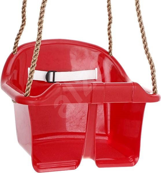 Houpačka CUBS Basic plastová - červená - Houpačka