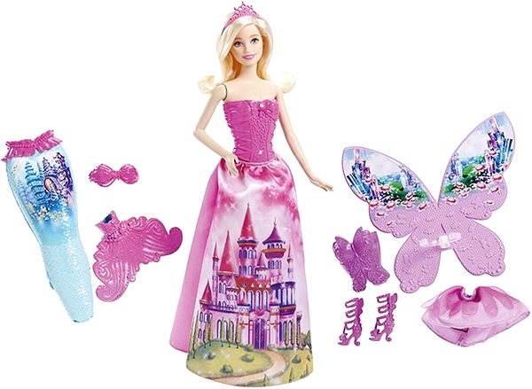 Barbie - Víla a pohádkové oblečky - Panenka