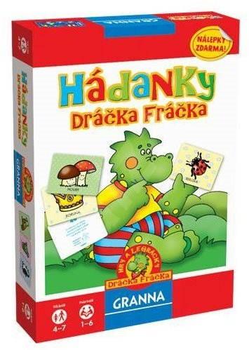 Hádanky Dráčka Fráčka - Společenská hra