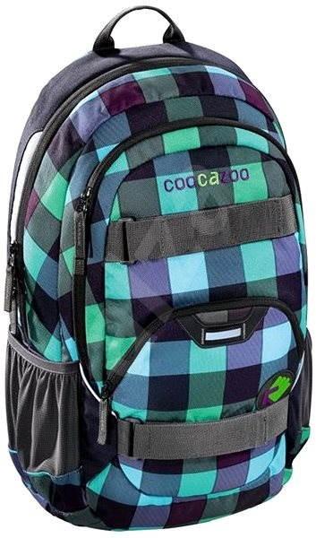 a57b2887653 Školní batoh Coocazoo Rayday - Green Purple District - Dětský batoh ...