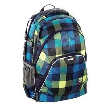 CoocaZoo EvverClevver Lime District - Školní batoh