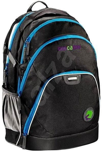 CoocaZoo EvverClevver Black - Školní batoh  f5bb282ca4