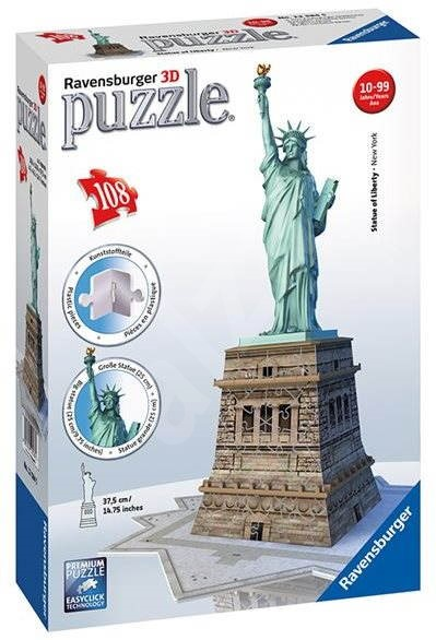 Ravensburger 3D 125845 Socha Svobody - 3D puzzle