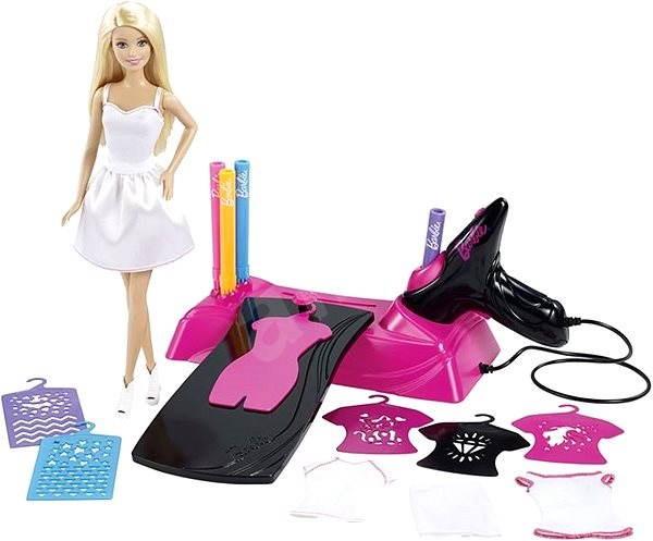 Mattel Barbie - Barbie v růžovém a Airbrush - Panenka