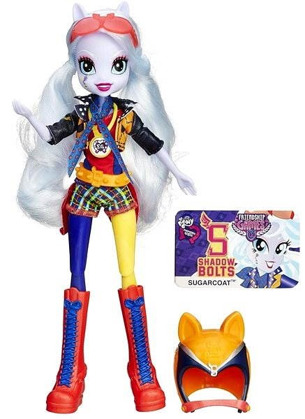 My Little Pony Equestria Girls - Shadowbolts Sportovní panenka Sugarcoat - Panenka