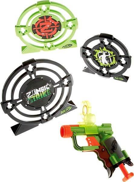 Nerf Zombie Strike - Target Set Zoombie se třemi terči - Dětská pistole