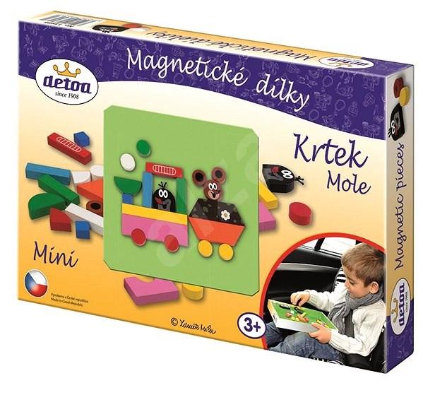 Krteček - Magnetické puzzle - Puzzle