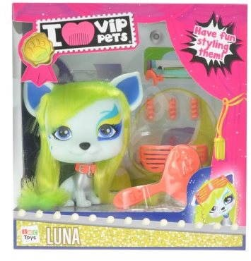VIP Pets - Mazlíček Luna s doplňky - Herní set