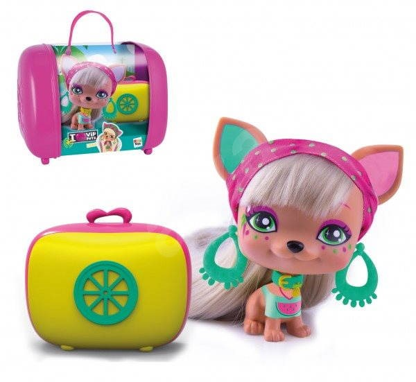 VIP Pets - Mazlíček Leah s kufříkem a doplňky - Herní set